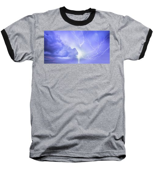 Fury Of The Storm Baseball T-Shirt