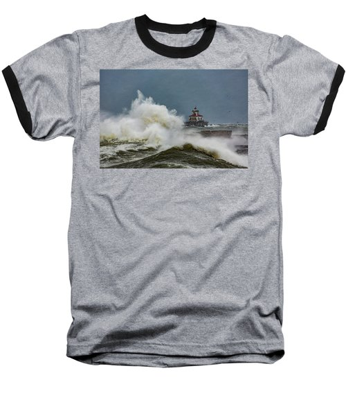 Baseball T-Shirt featuring the photograph Fury On The Lake by Everet Regal