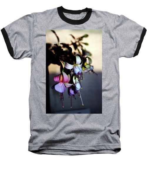 Baseball T-Shirt featuring the photograph Fuschia Dancing Lady by Joseph Frank Baraba