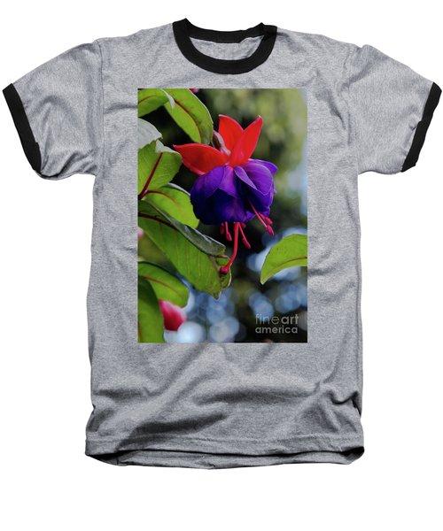 Fuschia Baseball T-Shirt