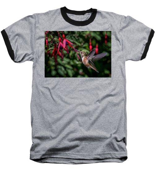 Fuschia Baseball T-Shirt by Randy Hall
