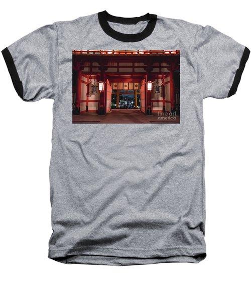 Baseball T-Shirt featuring the photograph Fushimi Inari Taisha, Kyoto Japan 2 by Perry Rodriguez