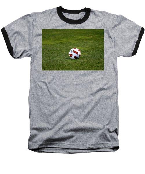 Baseball T-Shirt featuring the photograph Futbol by Laddie Halupa