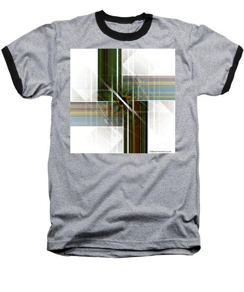 Future  Buildings Baseball T-Shirt by Thibault Toussaint