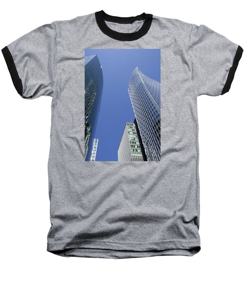 Future Metropolis Baseball T-Shirt