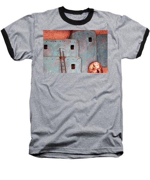 Futuristic Pueblo Baseball T-Shirt