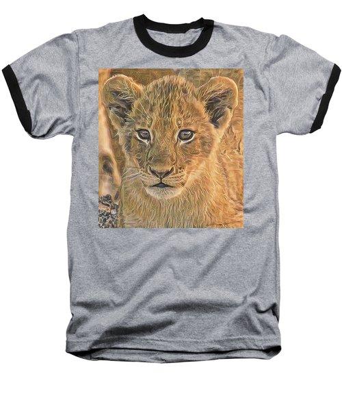 Fuzzy Cubby Baseball T-Shirt