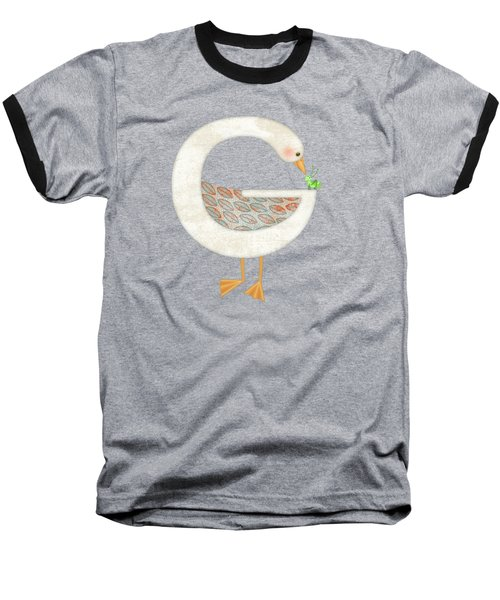 G Is For Goose And Grasshopper Baseball T-Shirt