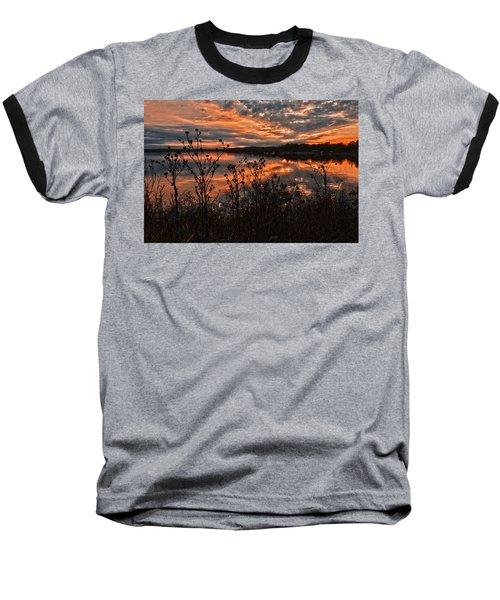 Gainesville Sunset 2386w Baseball T-Shirt