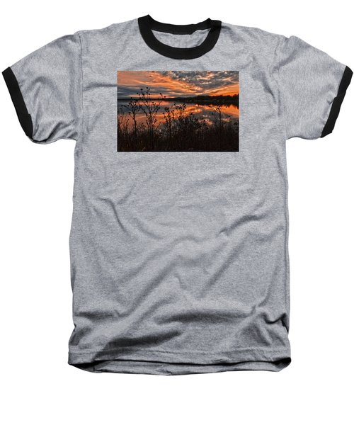 Gainesville Sunset 2386w Baseball T-Shirt