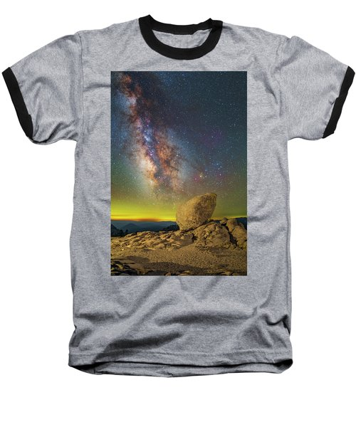 Galactic Erratic Baseball T-Shirt