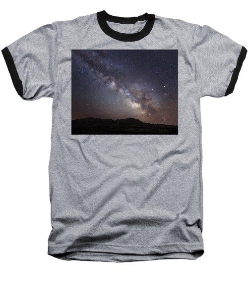 Galactic Light On Badlands National Park Baseball T-Shirt