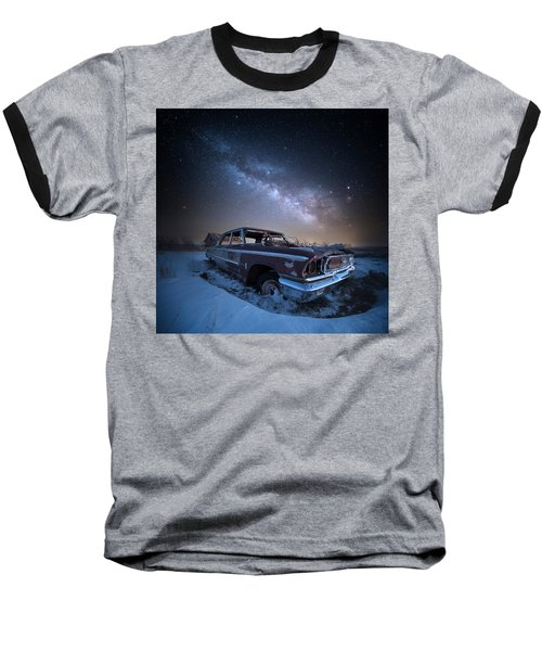 Baseball T-Shirt featuring the photograph Galaxie 500 by Aaron J Groen