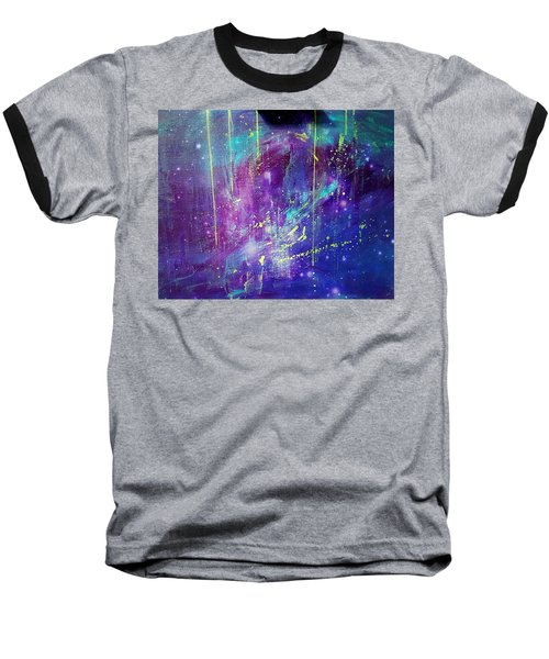 Galaxy In Motion Baseball T-Shirt