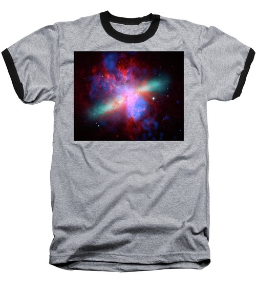 Baseball T-Shirt featuring the photograph Galaxy M82 by Marco Oliveira