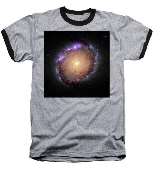 Galaxy Ngc 1512 Baseball T-Shirt by Hubble Space Telescope