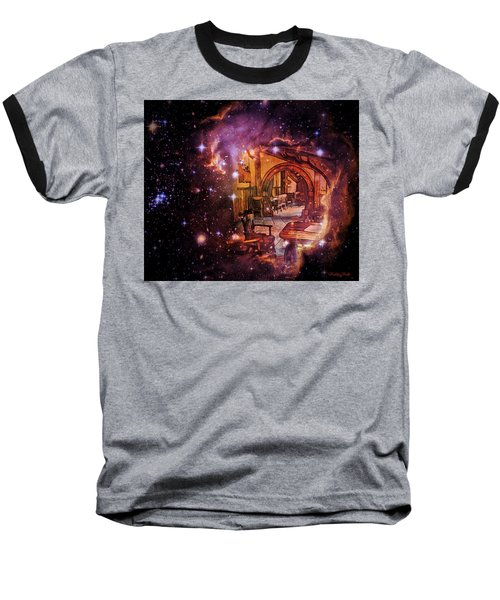 Galaxy Quest Baseball T-Shirt by Kathy Kelly
