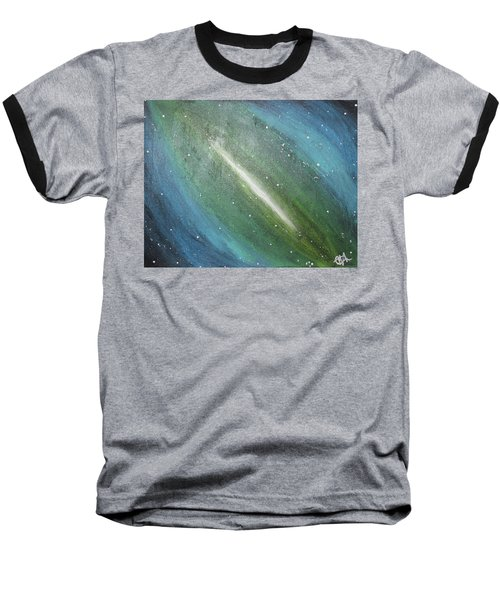 Galaxy's Eye Baseball T-Shirt by Cyrionna The Cyerial Artist