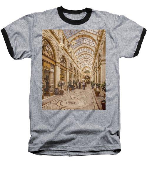 Paris, France - Galerie Vivienne Baseball T-Shirt