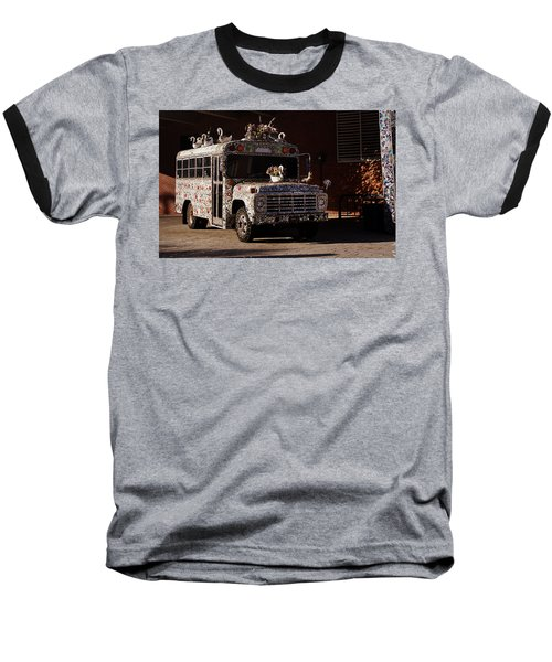 Gallery A Go Go Baseball T-Shirt by Joseph Skompski