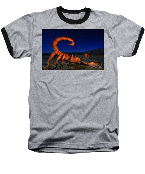 Galleta Meadows Estate Sculptures Borrego Springs Baseball T-Shirt by Sam Antonio