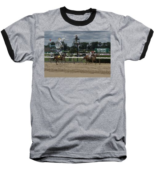 Baseball T-Shirt featuring the digital art Galloping Out Painting by  Newwwman
