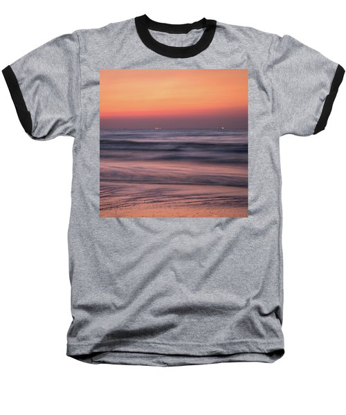 Baseball T-Shirt featuring the photograph Galveston Morning by James Woody