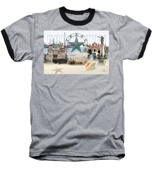Galveston Texas Baseball T-Shirt