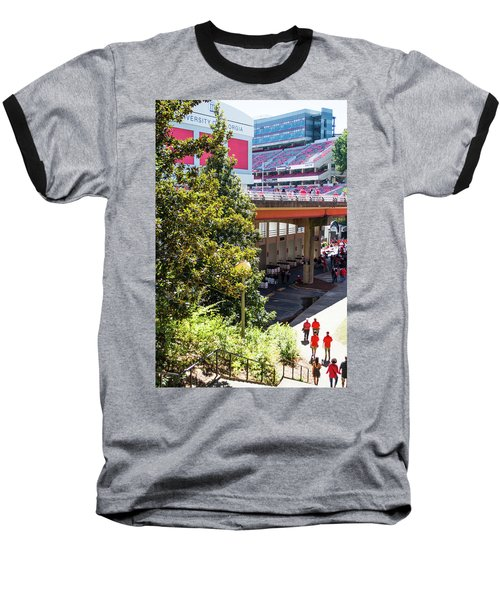 Baseball T-Shirt featuring the photograph Game Day In Athens by Parker Cunningham