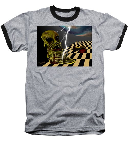 Game Over Baseball T-Shirt