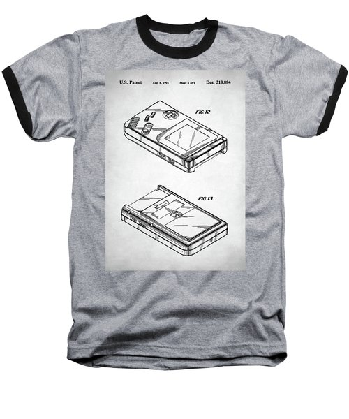 Gameboy Patent Baseball T-Shirt by Taylan Apukovska