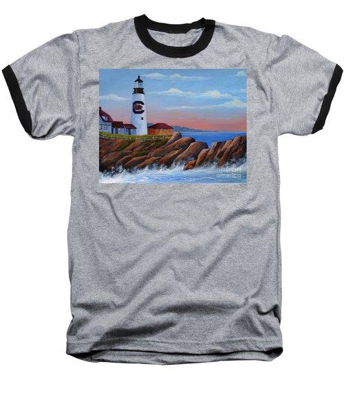 Gamecock Lighthouse Baseball T-Shirt