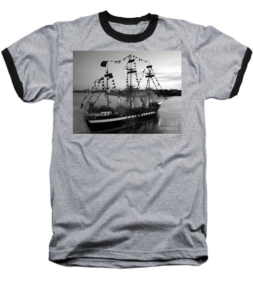 Gang Of Pirates Baseball T-Shirt