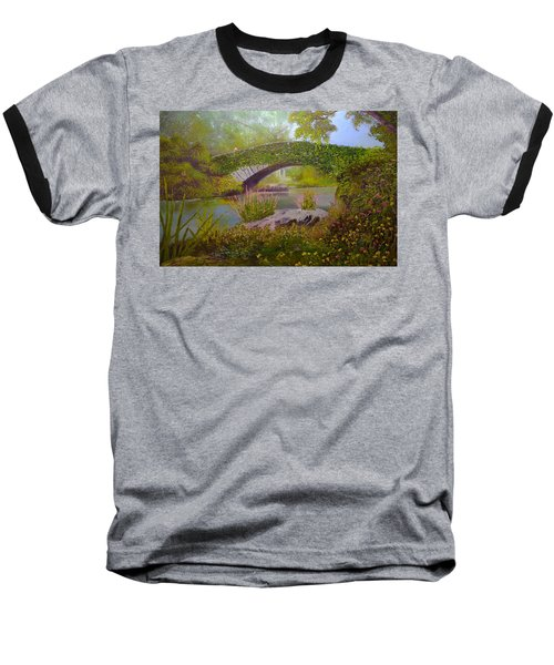 Gapstow Bridge Central Park Baseball T-Shirt