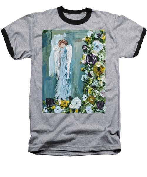 Garden Angel Baseball T-Shirt