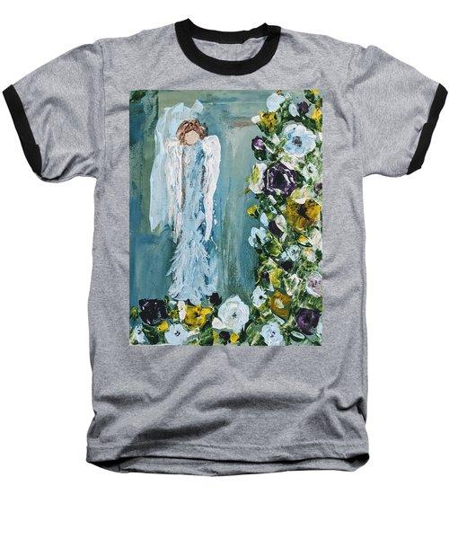 Garden Angel Baseball T-Shirt