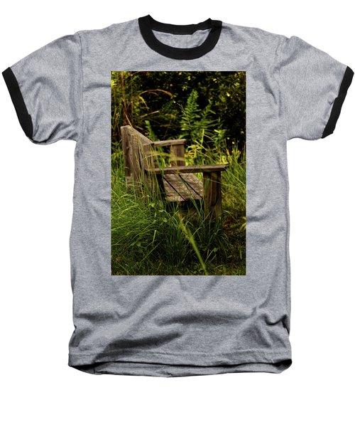 Garden Bench Baseball T-Shirt
