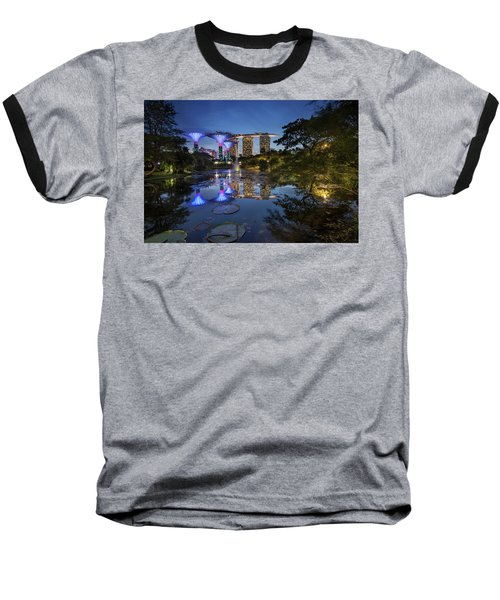 Garden By The Bay, Singapore Baseball T-Shirt