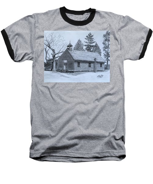 Garden Creek Baptist Church  Baseball T-Shirt by Tony Clark