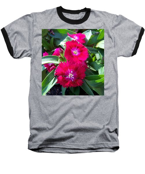 Baseball T-Shirt featuring the photograph Garden Delight by Sandi OReilly