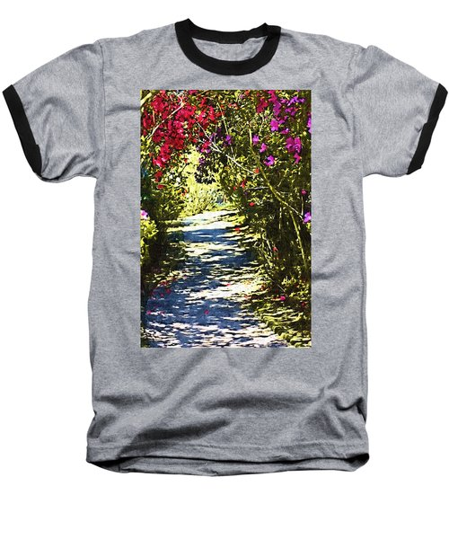 Baseball T-Shirt featuring the photograph Garden by Donna Bentley