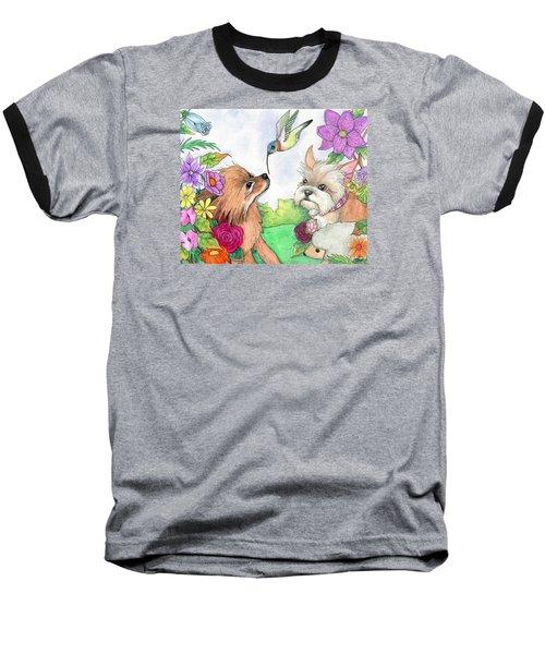 Garden Dwellers Baseball T-Shirt