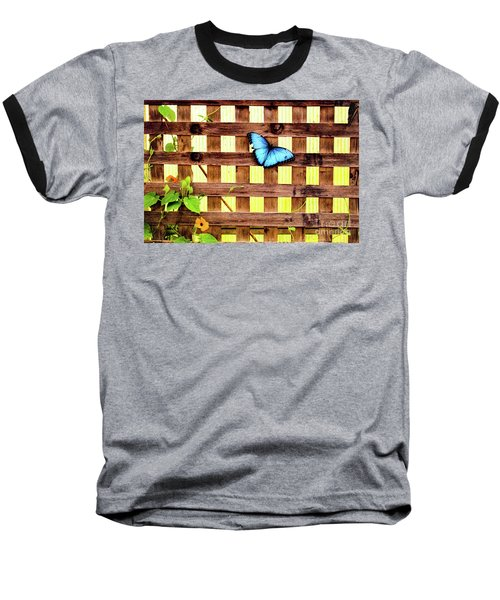 Garden Fence Baseball T-Shirt