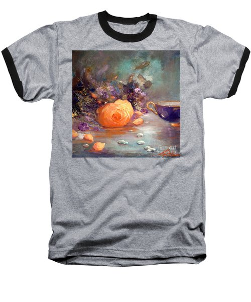 Garden Flowers Baseball T-Shirt by Michael Rock