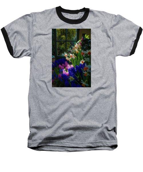 Garden House Delight Baseball T-Shirt