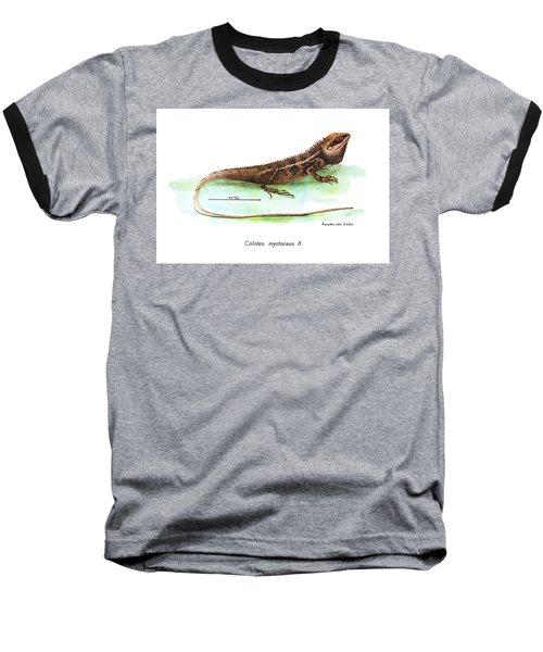 Garden Lizard Baseball T-Shirt