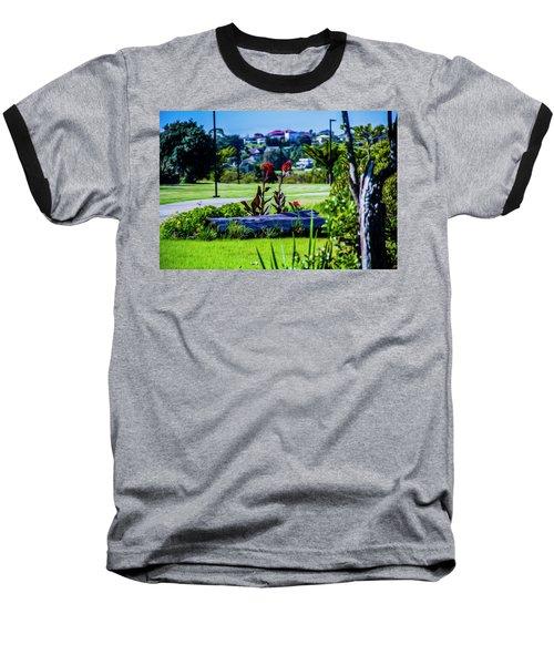 Garden Log Baseball T-Shirt