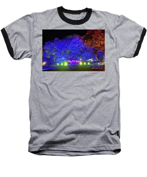 Baseball T-Shirt featuring the photograph Garden Of Light By Kaye Menner by Kaye Menner