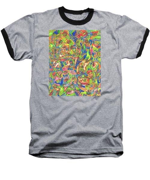 Garden Of Reflections Baseball T-Shirt