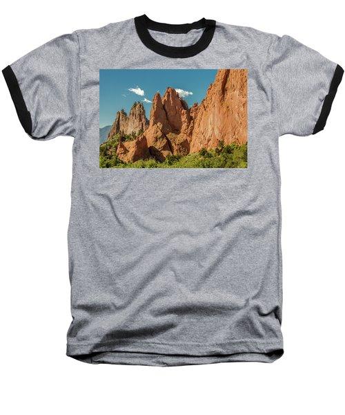Baseball T-Shirt featuring the photograph Garden Of The Gods by Bill Gallagher